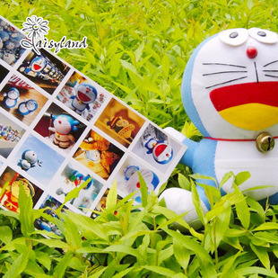 cute Japanese anime sticker,40 designs Doraemon sticker seal labels for kids/envelopes/diary,daily deco sticker set