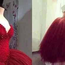 SexeMara 2018 Bridal Ball Gown Glamorous Hand Made dresses