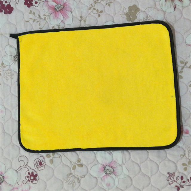 Fiber Car Cleaning Polishing Wash Plush Microfiber Cloth