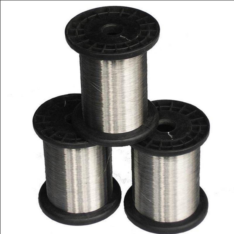 0.4mm 304 Stainless Steel Wire Roll Single Bright Hard Wire Cable