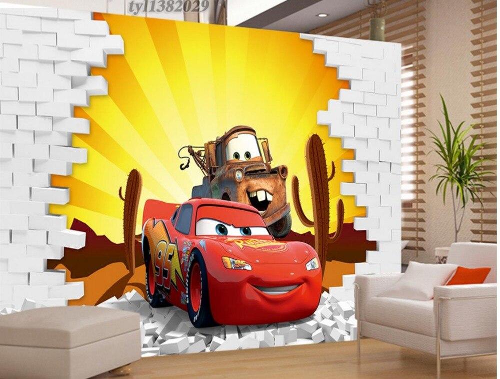 Custom 3d Photo Wall Paper Car Living Children S Room Tv Background 3d Mural Wallpaper Home Decoration