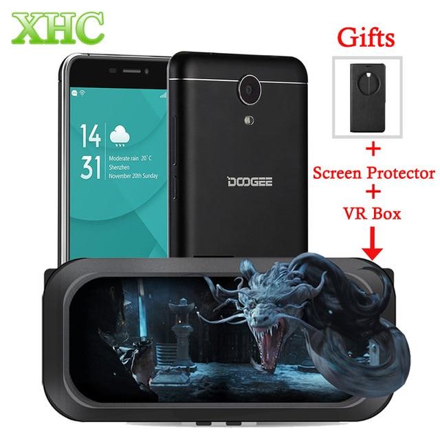 DOOGEE X7 Pro 16GB FDD LTE 4G 6.0'' Smartphone Android 6.0 MTK6737 64-Bit Quad Core RAM 2GB Dual SIM 3700mAh Battery Cellphone