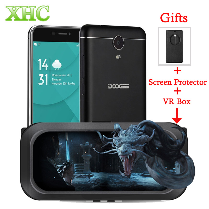Original DOOGEE X7 Pro LTE 4G Smartphone 6 0 inch Android 6 0 MTK6737 Quad Core