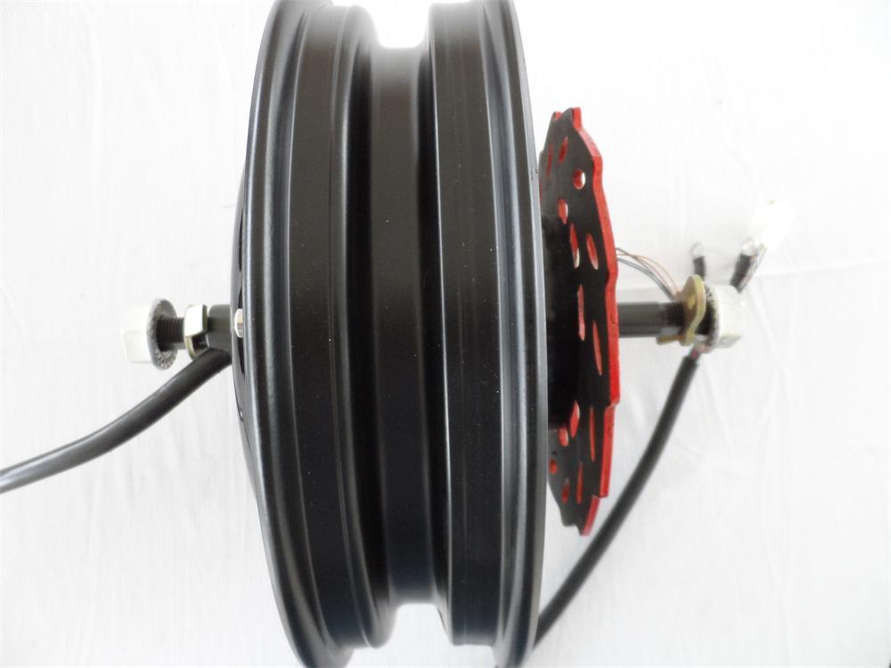 10inch 48V60V/72V 1000W BLDC electric scooter hub motor/ powerful electric motorcycle replace motor lin ya thunder 48v60v