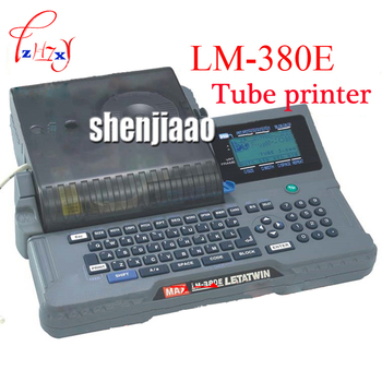 Line mark printer Cable ID Printer Can Connect PC Electronic Lettering Machine PVC Tube Printer Wire Mark Machine 100V~240V  1pc