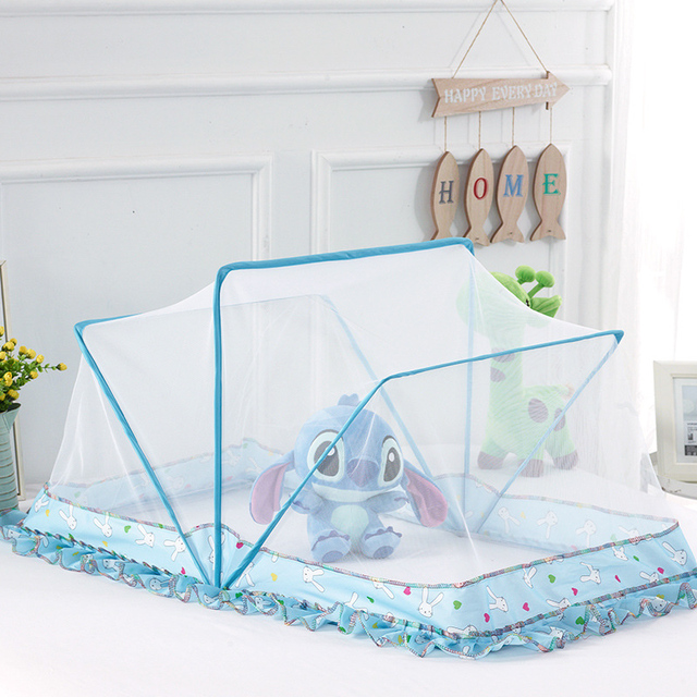 Baby Crib Netting Room Luxury Mosquito Net Summer Portable Insect Cradle Folding