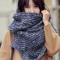 Venda quente mulheres lenços de inverno 2016 moda quente grossa 200*35 cm lenços das senhoras 19 tipos frete grátis