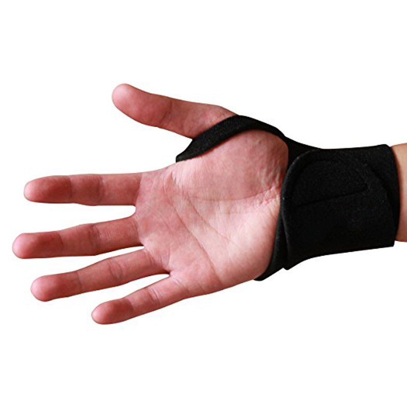 1Pcs Reversible Sports Wrist Protector Brace , Fitted Right/Left Thumb Stabilizer, Adjustable Wrist Support Protection