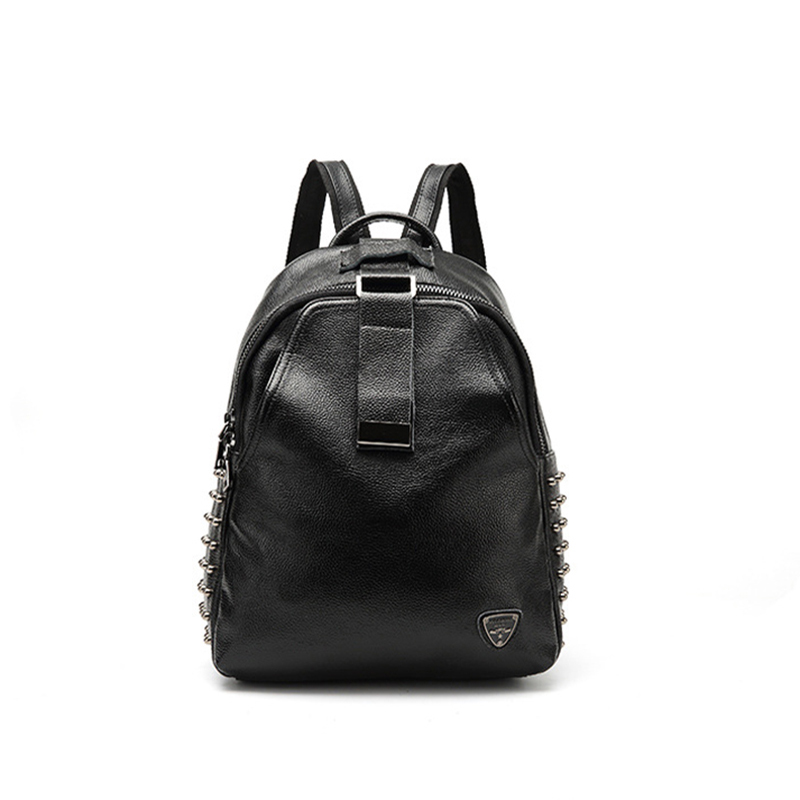 2018 fashion new genuine leather head layer cowhide leather backpack Backpack Bag Leather female leisure