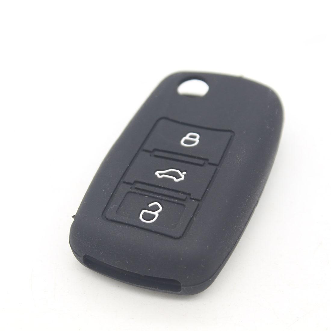Dongzhen мини Силиконовый чехол В виде ракушки чехол для авто Дистанционное управление Ключи силиконовый чехол подходит для Skoda Octavia Fabia Superb