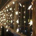 Tanbaby 3.5 M Hielo led cadena de luz 96 LED Curtian luces guirnalda estrella modelado de interior luminarias led de navidad la decoración del Hogar