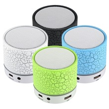 1pcs Excellent LED Wireless Bluetooth Portable A9 USB Subwoofer Music Box Speaker FM Portable Musical Subwoofer Loudspeakers
