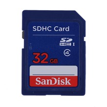 SanDisk SDHC Class4 Real 16GB 32GB Safe Digital Reminiscence Card Digital camera Reminiscence Playing cards Go Official Verification 4mb/s
