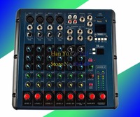8 channel reverb USB microphone mixer professional singing KTV performance equipment