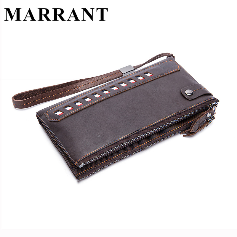 MARRANT Genuine Leather Men Wals