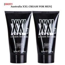 2pcs XXL Cream Men big dick Oil Male cock Growth BIG 50ML Male dick Massage Oil
