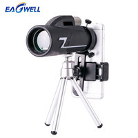 Universal 16x50 Zoom Telescope High Definition Mobile Phone Telephoto Lens for iPhone Samsung Outdoor Camping Fishing & Tripod