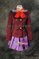 Another Mei Misaki Purple Uniform Costume Cosplay Outfit H008
