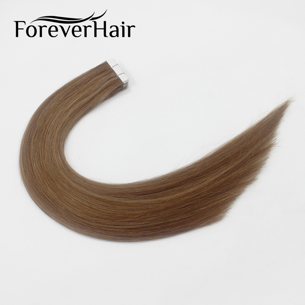 FOREVER HAIR 2 0g pc 18 Remy Tape In Hair Extension Piano Color 10 6 Seamless