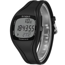 9105 Multifunctional Sports Pedmeter Waterproof Electronic Watch
