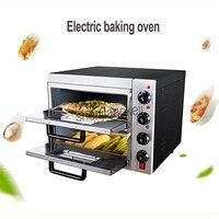 Электрическая печь для выпечки 220 В пекарня пицца хлеб Духовка Термометр Таймер с духовкой Перчатки для коммерческого или домашнего исполь