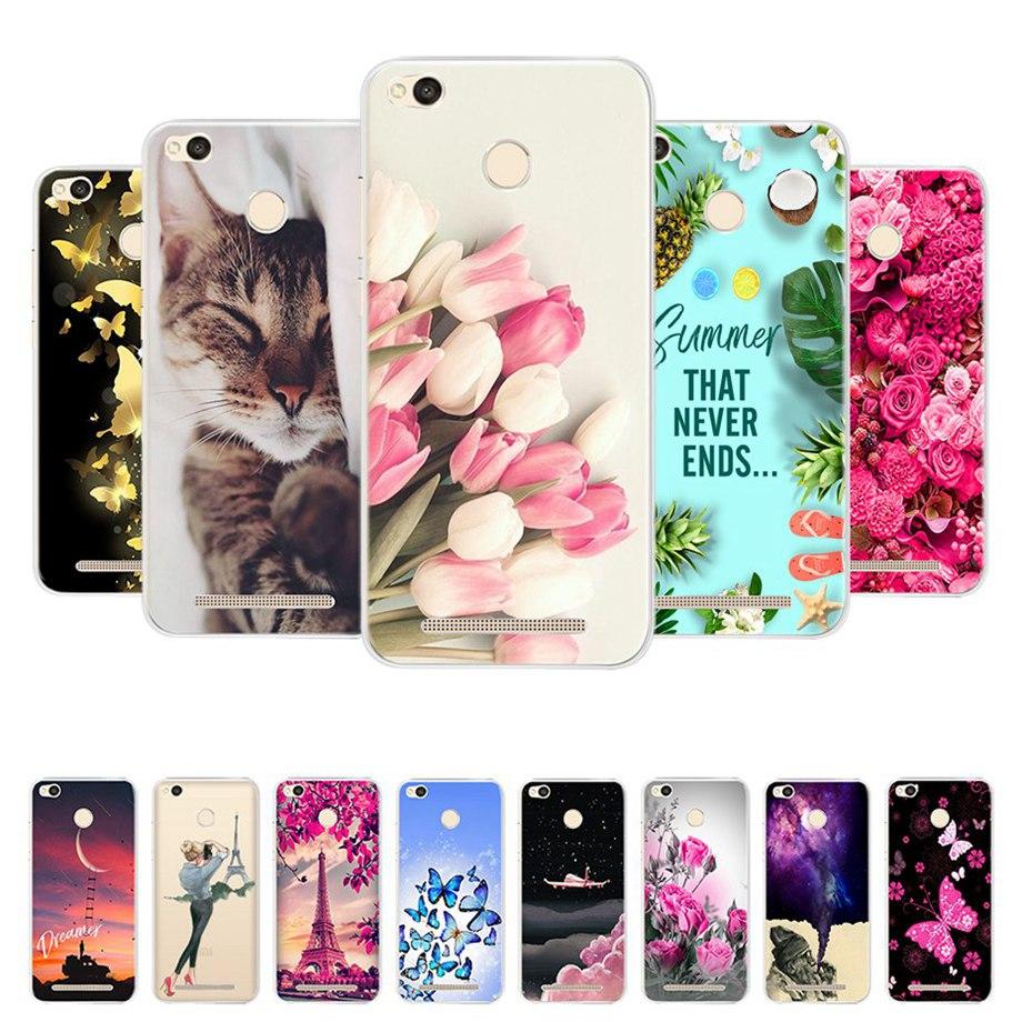 Phone-Cases Bumper 3s-Cover Xiaomi Redmi Silicon For 3D 3-Pro