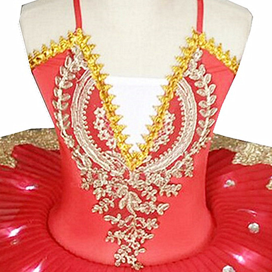 Professional Led Ballet Tutu Dress For Kids Red 2019 New Latin Costumes Ballet Dress for Children Pancake Led Girls Dancewear in Ballet from Novelty Special Use