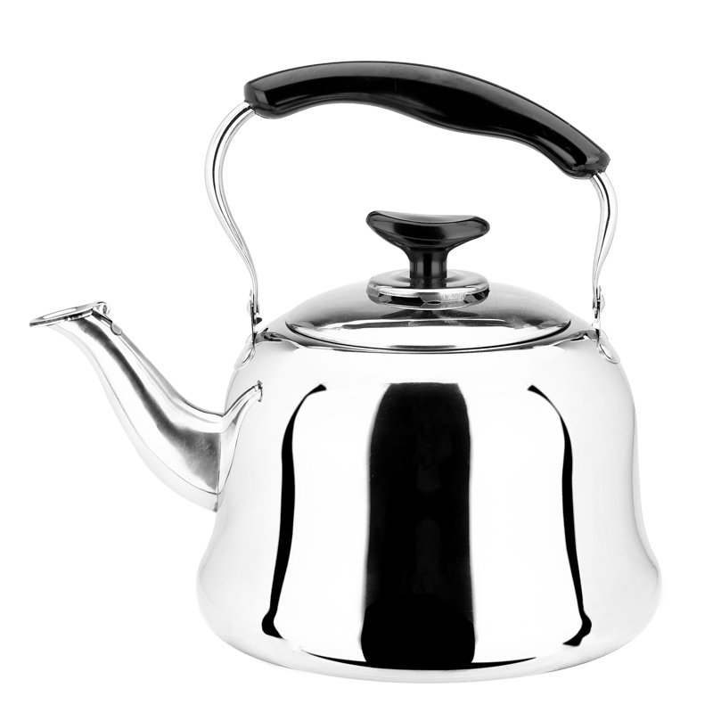 Stainless Steel Kettle Beeps Teapot Gas Cooker Universal Thicker Whistling Kettle Burn Boiling Water Suit Gas Cooker