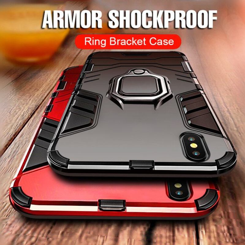 Armor Phone Case For iPhone X XR XS Max Heavy Duty Anti