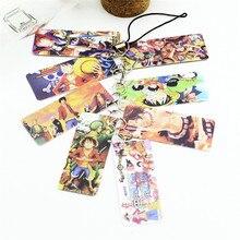 ONE PIECE Photo Pvc Card String Keychain 8 pcs