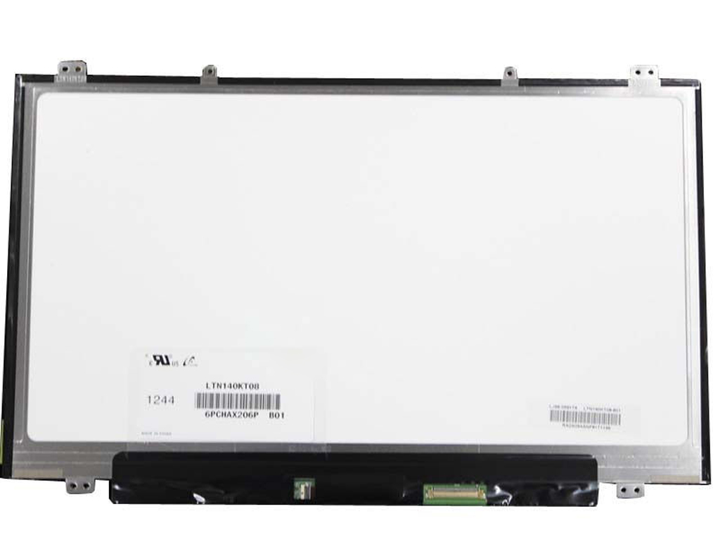 все цены на QuYing Laptop LCD Screen Model Number LTN140KT08-801 (14.0 inch 1600x900 40Pin Up+down 8 screw holes) онлайн