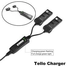 DJI Carregador Tello 2 em 1 portátil Hub De Carga Carregador Inteligente para Tello DJI Zangão Câmera Carregador de Bateria Inteligente