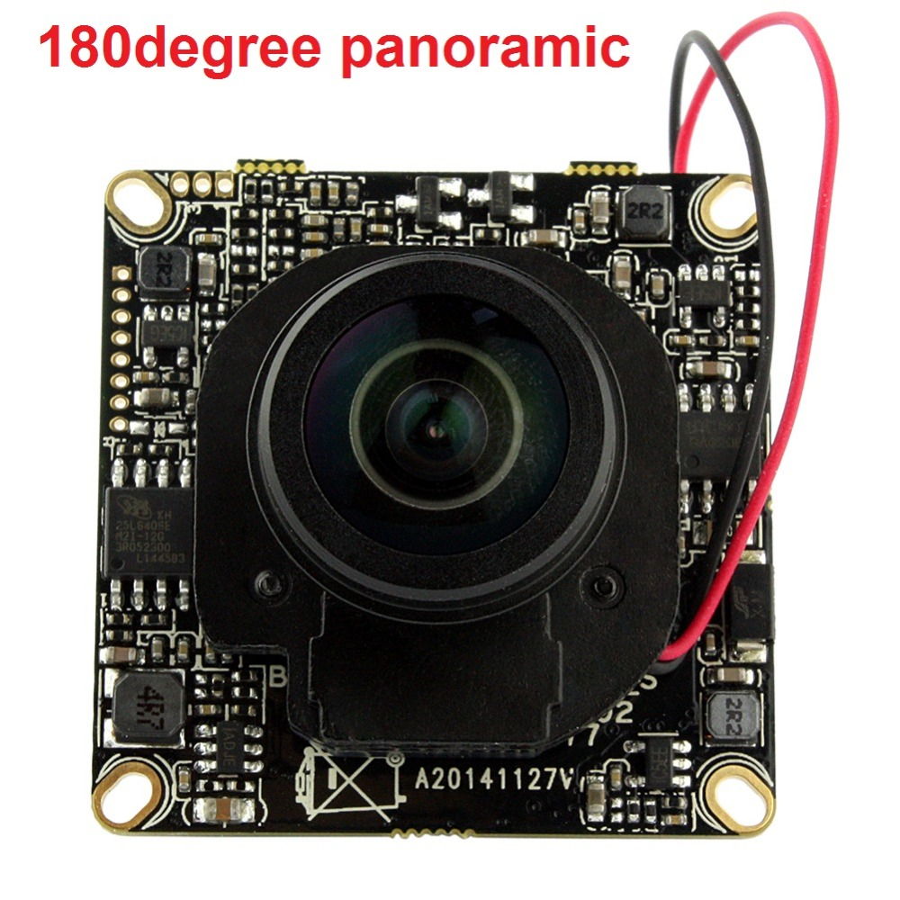 ФОТО Mini HD 1080P Audio Input With External Pickup Microphone 360degree fisheye lens Security Camera IP Audio ONVIF P2P IP Cam