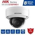 Hik оригинальный английский DS-2CD2185FWD-I 8MP открытый купол ip Камера H.265 обновляемых CCTV Камера Интерфейс безопасности kamera 2,8 мм