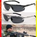 Deporte de Lujo Para El Policía Marina Modelo del Conductor Polarizado Tac Ha Mejorado Para Polarizado Golf Uv 400 gafas de Sol de Los Hombres 6825