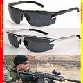 Esporte de Luxo Para O Polícia Marinha Modelo de Motorista Reforçada Polarizada Tac Para Golf Polarizada Uv 400 óculos de Sol dos homens 6825