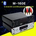 FX-Аудио M-160E Bluetooth@4.0 Цифровой Аудио Вход Усилителя USB/SD/AUX/PC-USB Loseless Плеер Для APE/WMA/WAV/FLAC/MP3 160 Вт * 2