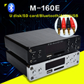 FX-M-160E Bluetooth@4.0 entrada do Amplificador De Áudio Digital de Áudio USB/SD/AUX/PC-USB Loseless Player Para MACACO/WMA/WAV/FLAC/MP3 160 W * 2