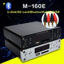 Fx Âm Thanh M 160E Bluetooth@4.0 Bộ Khuếch Đại Âm Thanh Kỹ Thuật Số Đầu Vào Cổng USB/SD/AUX/PC USB Loseless Cầu Thủ APE //WMA/WAV/FLAC/MP3 160W * 2