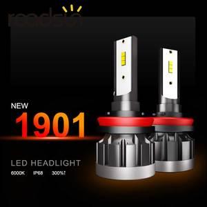 Image 2 - H7 led المصباح H11 H4 H1 9005 hb3 9006 hb4 سوبر ضوء سيارة مصباح ليد 80 واط 10000LM 12 فولت 24 فولت 6000 كيلو CSP رقاقة عالية الجودة Led مصباح