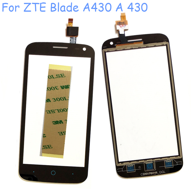 Mobile Phone Touch Screen For Zte Blade A430 A 430 Sensor Front Glass Digitizer Panel Sensor Lens Touchscreen Tools 3m Tape Touch Screen Mobile Phone Touch Screenfront Glass Aliexpress