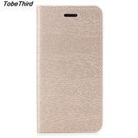 TobeThird Luxury Flip Leather Case For Xiaomi Redmi 4X Protective Stand Cover Case For Xiaomi Redmi