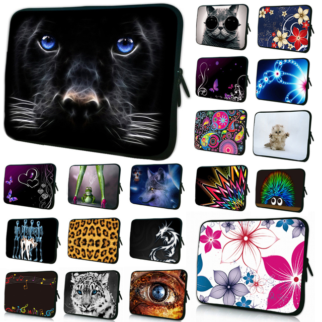 hot 7 8 tablet sleeve cases print notebook netbook pouch bag 7.7 7.9 cover for a5500/A8/Dell/Acer/hp Samsung Tab For Nexus 7 Tab
