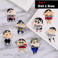 Newcool  Ring Holder Mobile Phone Tablet Crayon Shin Chan Finger Grip For Iphone 7 plus Xiaomi Car Stand Ring Holder