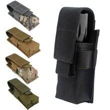 CQC Molle тактический M5 светильник для вспышки, чехол для одного пистолета, подсумок, фонарь, держатель, чехол для охотничьего ножа, светильник, сумка-Кобура