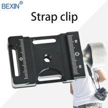 Зажим для штатива dslr камера плечевой ремень безопасности зажим шаровая Головка адаптер Крепление зажим быстросъемный зажим пластина зажим для Arca