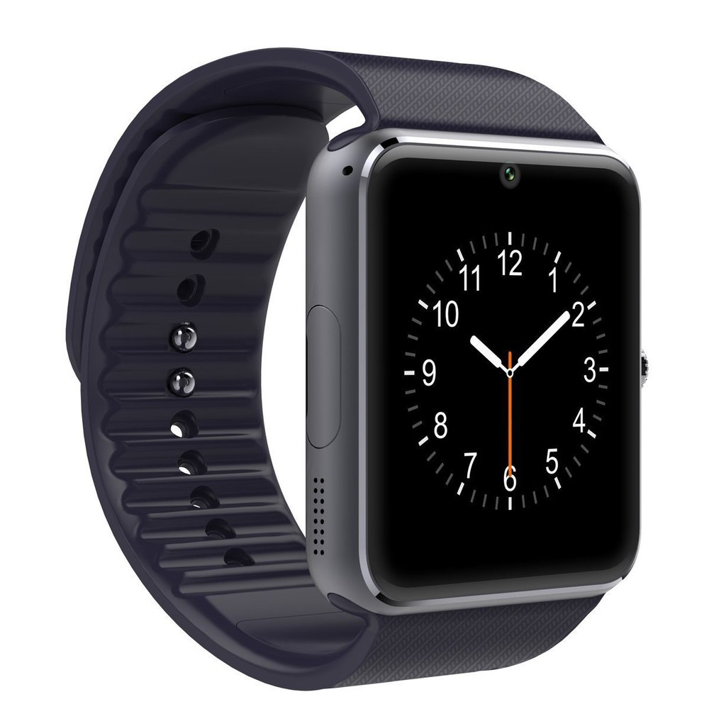 Sepver GT08 Smart Watch Support SIM TF card camera Pedometer reloj inteligente f