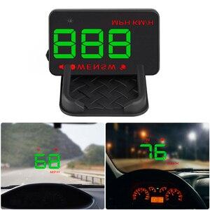 Image 5 - A5 GPS Per Auto Universale HUD Head Up Display Tachimetro Digitale Su Allarme di Velocità Parabrezza Auto di Navigazione Strumento di Diagnostica