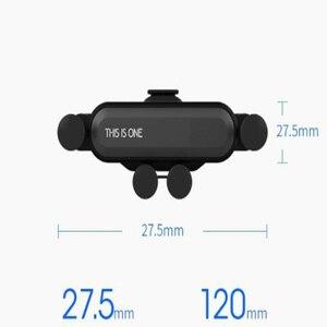 Image 2 - 重力電話で車の換気口なし磁気携帯電話ホルダー GPS iPhone 用スタンド xiaomi
