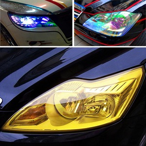 30*100CM Car Color-Changing Film Lamp Protection Film Car Styling Headlight Taillight Sticker Car Light Accessries